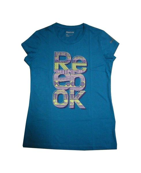 Camiseta Reebok Filled Azul