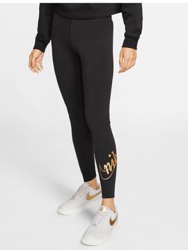 Ridículo recibir Viaje  Malla Nike Negro/Oro Mujer