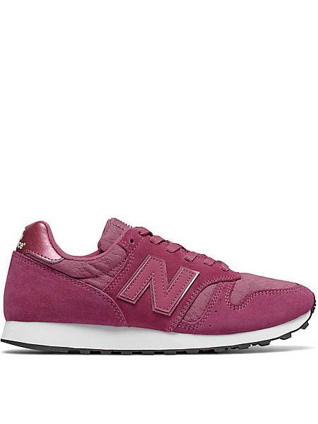 new balance negra y rosa