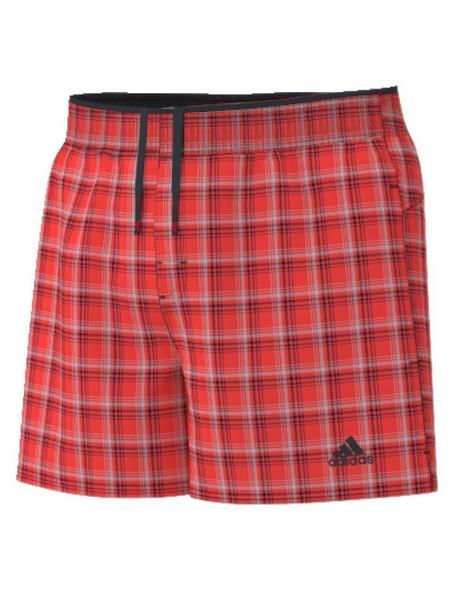 Bañador Check Cuadros B SH SL Adidas Rojo Nn0vm8w