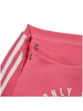 Chandal Adidas Rosa/Gris