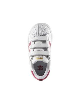 Zapatilla Adidas Superstar Foundation CF Bco/Rosa