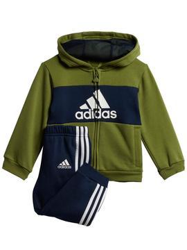 balsa jurar Con rapidez  Chandal Adidas Verde/Marino Niño