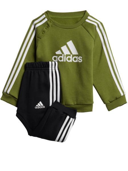 Ridículo Lima madera  Chandal Adidas Verde/Negro Bebe