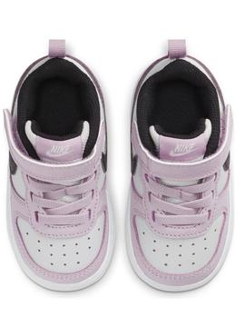 Zapatilla Nike Court Borough Low Malva Bebe