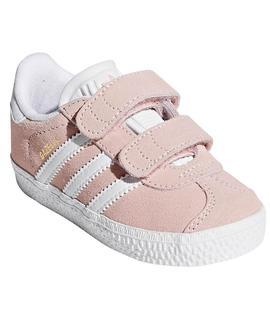 adidas gazelle rosa palo niña
