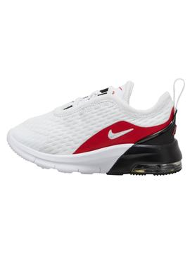 Zapatilla Nike Air Motion Bco/Rojo Bebe