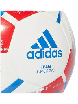 Balon Adidas Team J290 Blanco/Rojo