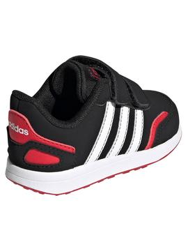 Zapatilla Adidas Vs Switch Negro/Rojo Niño