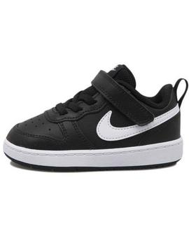 Zapatilla Nike Court Borough Negro Niñ@