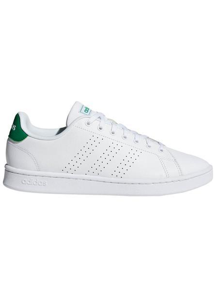 Zapatilla Adidas Advantage Blanco/Verde Hombre